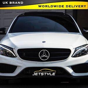 Mercedes-Benz-2011-2018-LED-Luz-Blanco-Coche-parrilla-insignia-emblema-frontal-con-logotipo-de