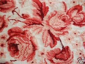 Handmade-Wool-Needlepoint-Tapestry-Rose-Cushion-Cover-B
