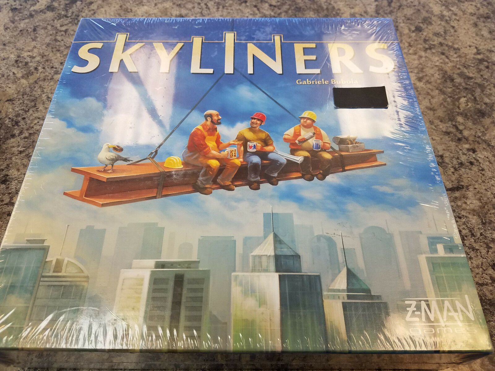 Skyliners - Z-Man Games Board Game New  Sky Liners City Building Game