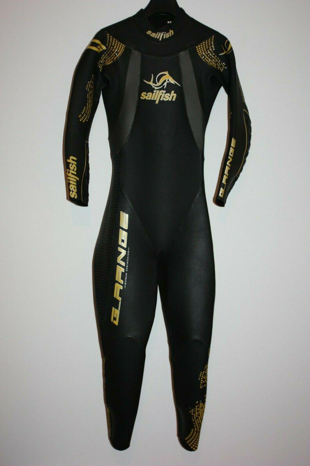 Sailfish G-Range Triathlon Neoprenanzug Gr. XS Neo Wetsuit Orca Xterra 2XU TYR