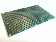 Lochrasterplatine 120x80 mm | Punktraster | RM 2,54 | Zweiseitig | Glasfaser
