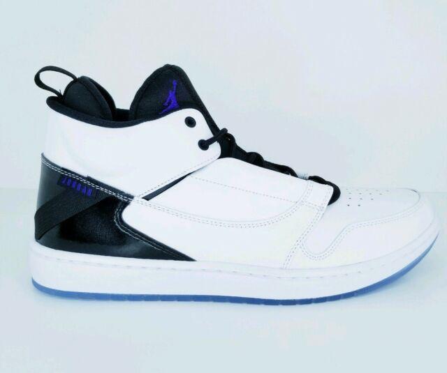 Size 12 - Jordan Fadeaway White Concord