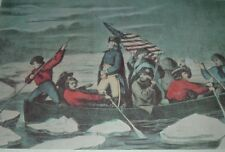 George Washington/'s crossing of the Delaware River oil painting reproduction pri