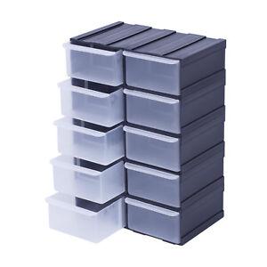Box-Kiste-Sortierkasten-Sortimentsbox-Organizer-Sortimentskasten-x10