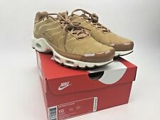 42c38b2463 ... wholesale item 2 nike air max plus tn tuned 1 ef wheat flax suede sail  white