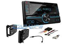Kenwood Car Stereo W/ Usb/aux Inpt Sirius Xm Radio With Dash Kit & Cd Player