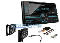 Kenwood Car Stereo W/ Usb/aux Inpt Sirius Xm Radio With Dash Kit & Cd Player