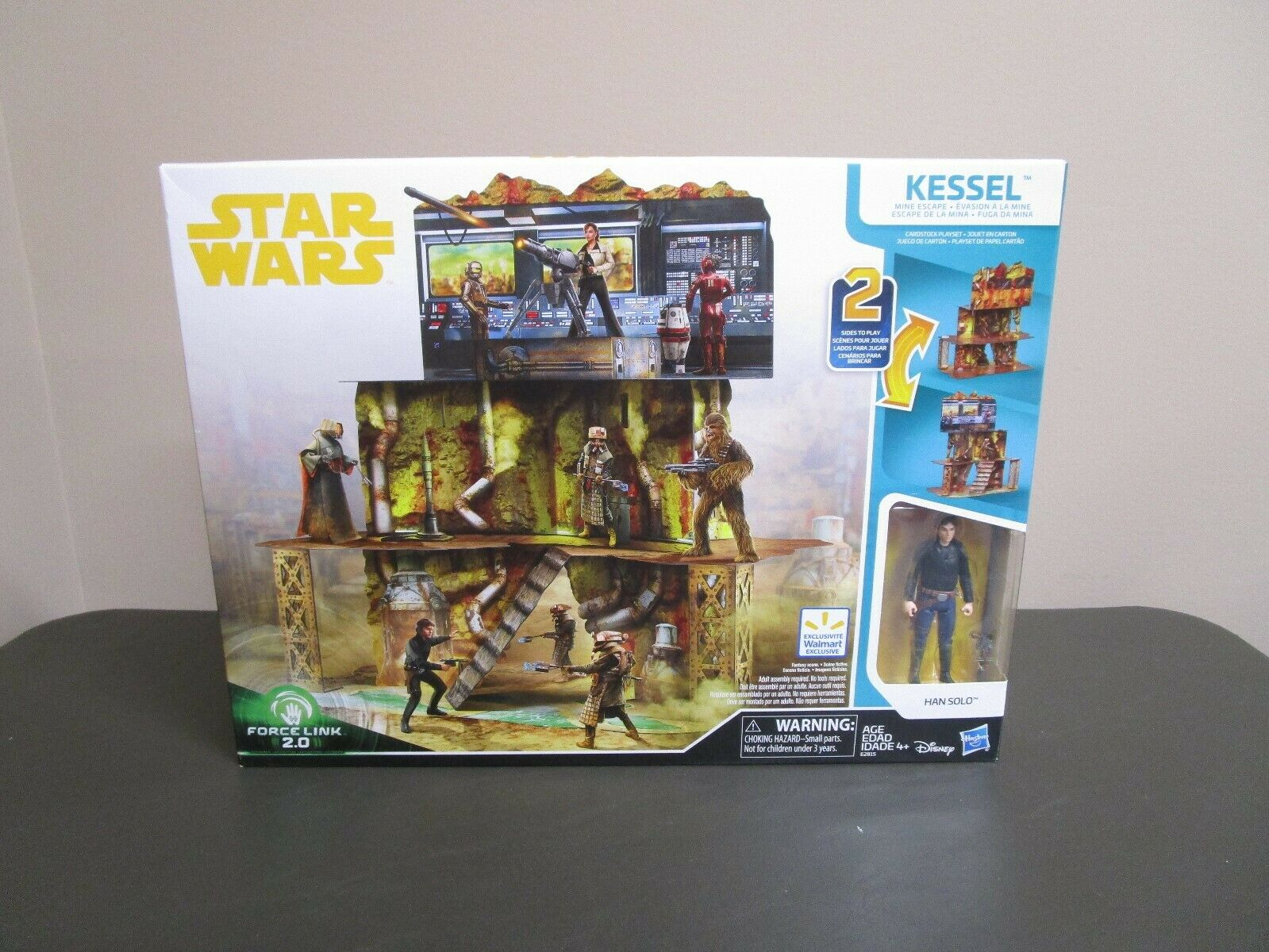 Kessel Mine Escape Playset Stern WARS Solo 2019 Walmart Exclusive MIB