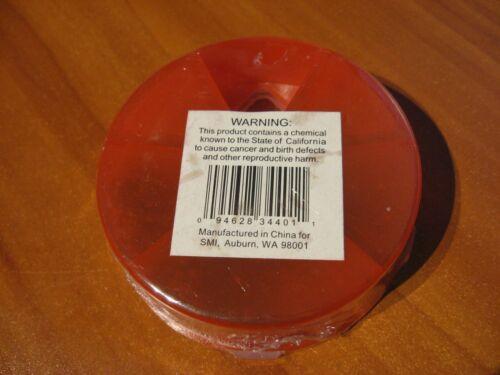 124 Pc Removable Split Shot Sinker Kit Fishing Weight In Selector Dispenser Case