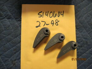 POLARIS CLUTCH WEIGHTS SET OF 3 USED  A