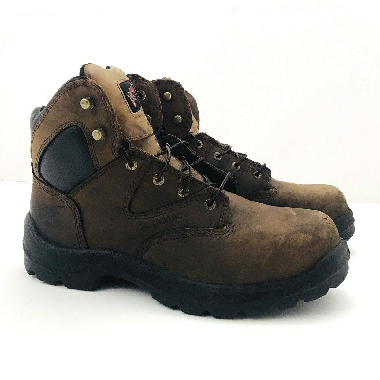 "prodotto di qualità Red Wing 4421 4421 4421 6"" Work stivali Metatarsal Safety Toe Electrical Hazard 10.5 D  basta comprarlo"
