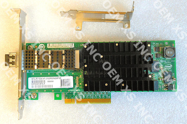 One New Intel EXPX9502FXSRGP5 10 Gigabit XF SR Dual Port Server Adapter New