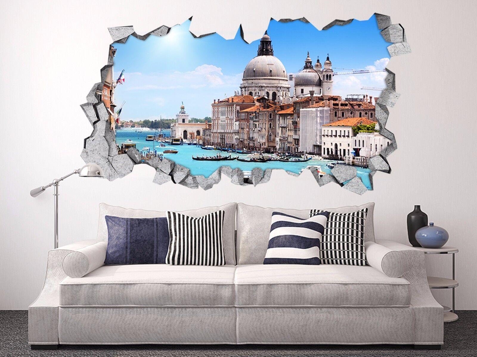 3D Venedig Italien 4 Mauer Murals Aufklebe Decal Durchbruch AJ WALLPAPER DE Kyra