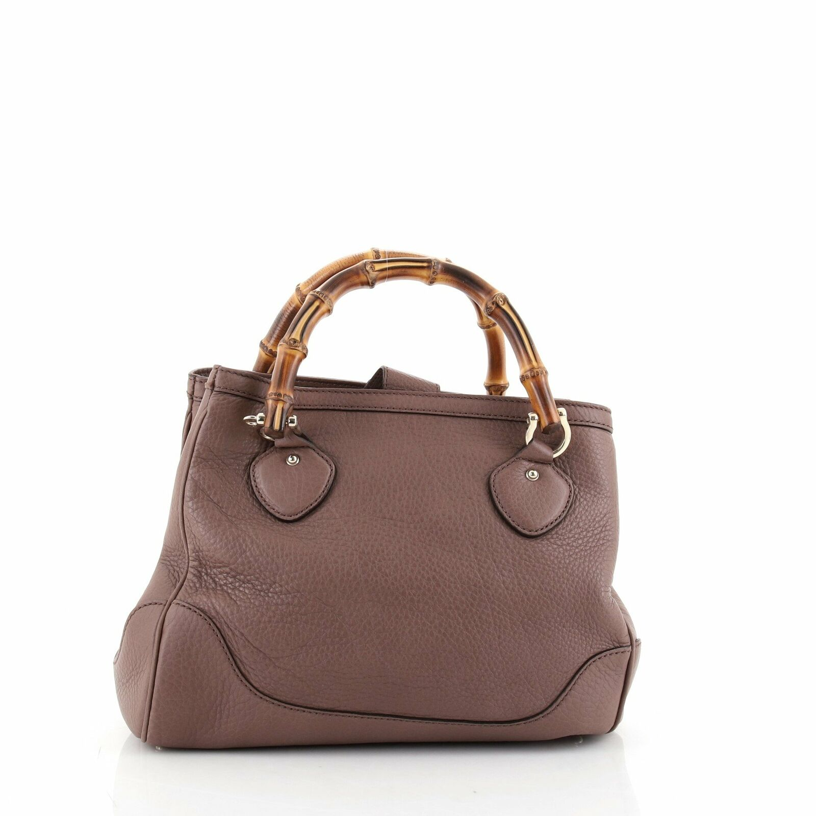 Gucci Diana Bamboo Top Handle Tote Leather Small - image 3