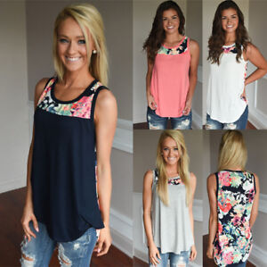 UK-Womens-Sleeveless-Floral-Vest-Tops-Summer-Ladies-Casual-Blouse-T-Shirt-6-20