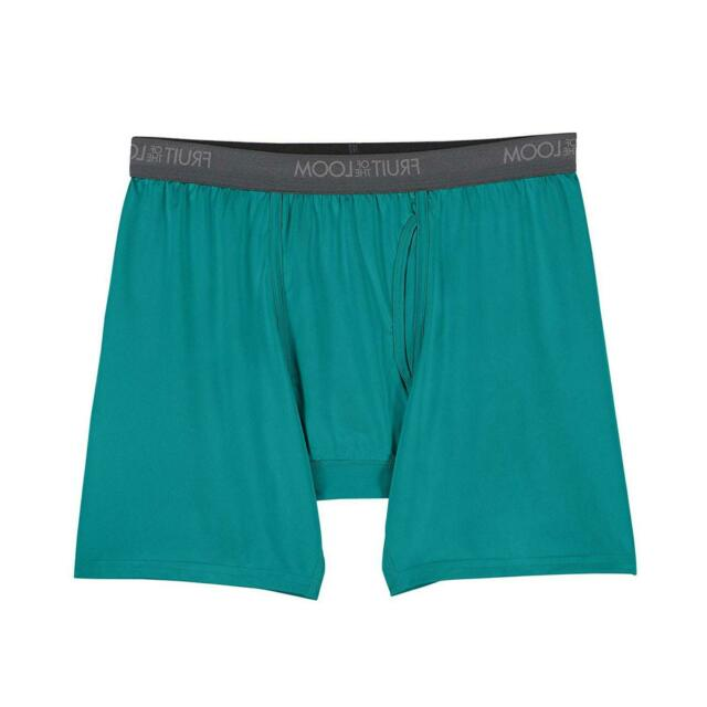 Fruit of the Loom Men's Micro-Stretch Boxer Briefs,, Assorted, Size Medium kzJe