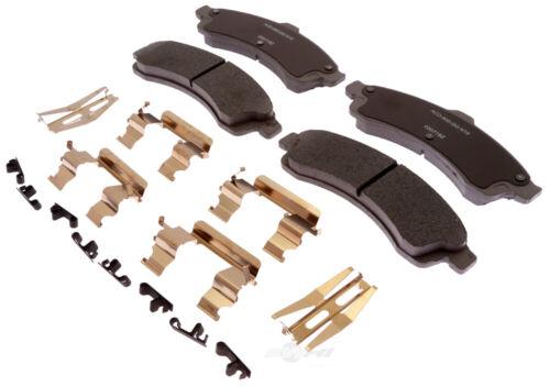 Disc Brake Pad Set-Ceramic Disc Brake Pad Front ACDelco Advantage 14D882CHF1