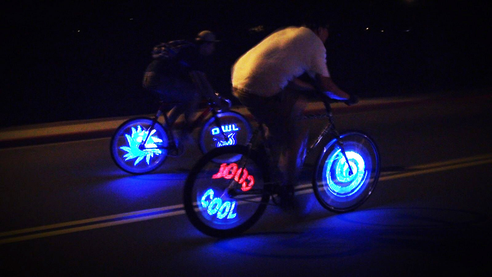 Fantasma OWL Spoke Wheel LED Light, Programmable, 24 , One Wheel (BK-2482)