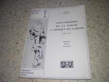 1971.illustration poésie époque cubisme / Gérard Bertrand.Derain Dufy Picasso