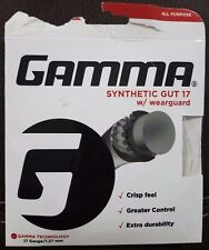 GAMMA Gsg17 WHT Sets Synthetic Gut 17g White for sale online