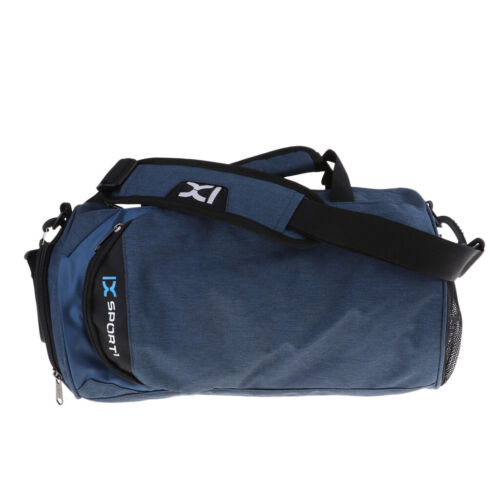 Heavy Duty Gym Travel Weekender Duffel Bag Backpack with Shoe Compartment