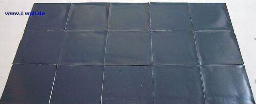 10 x Walzblei-Folie Trimm-Blei selbstklebend 11,0 x 11,0 cm x 1,0 mm Modellbau