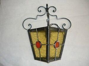 Plafoniere Da Esterno In Ferro Battuto : Applique plafoniera lampada da esterno in ferro battuto ebay