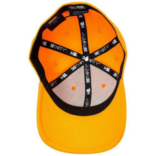 Orange Lantern Color Block New Era 39Thirty Fitted Hat Orange