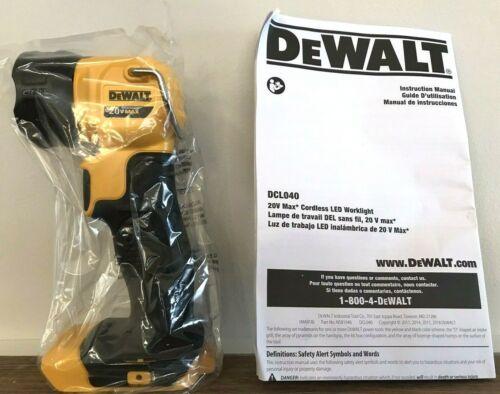 NEW DeWalt DCL040 Cordless Work Light