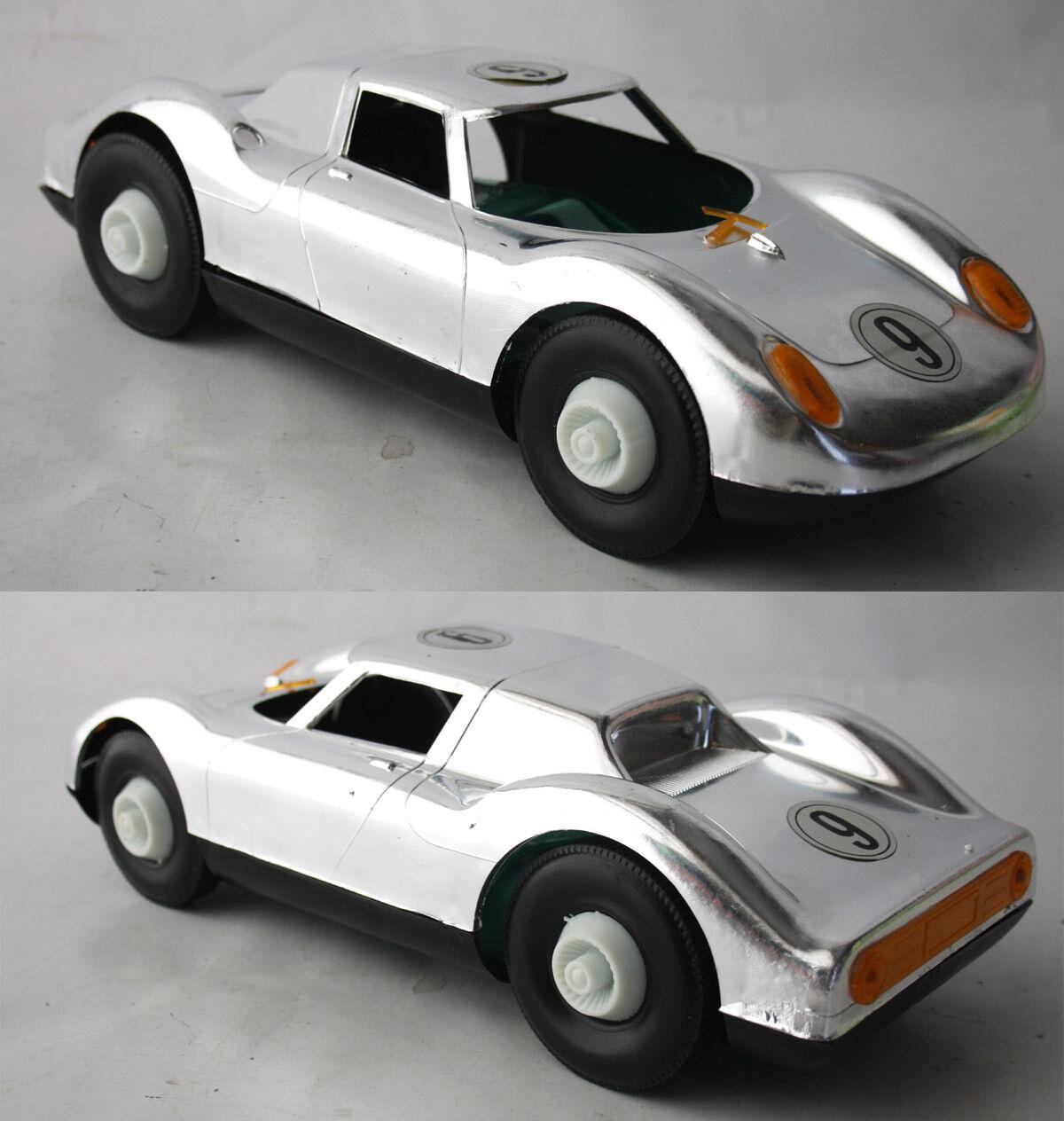Rara De colección años 70 Ferrari 250 LM LE MANS Racer 13.5  Coche Nuevo Cromo Grecia nos