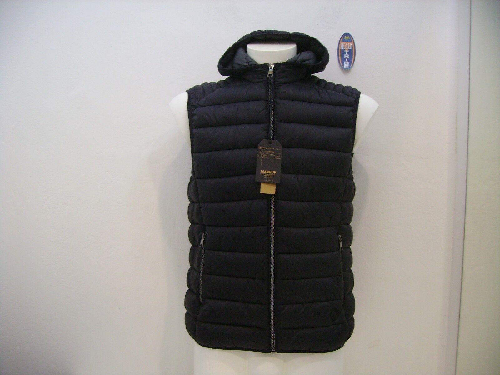 Herren Abzugshaube Basic Ärmellos Jacke Markup M49412