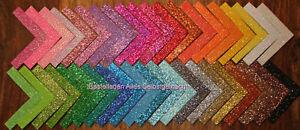 neue Farben!!! Glitzer-Moosgummi 8 verschiedene Farben zur Wahl
