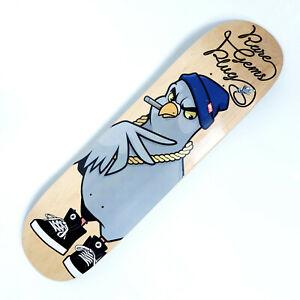 Rare Gems Plug Skateboard Deck 8,5 inch + Grip Resin7 Medium Concave
