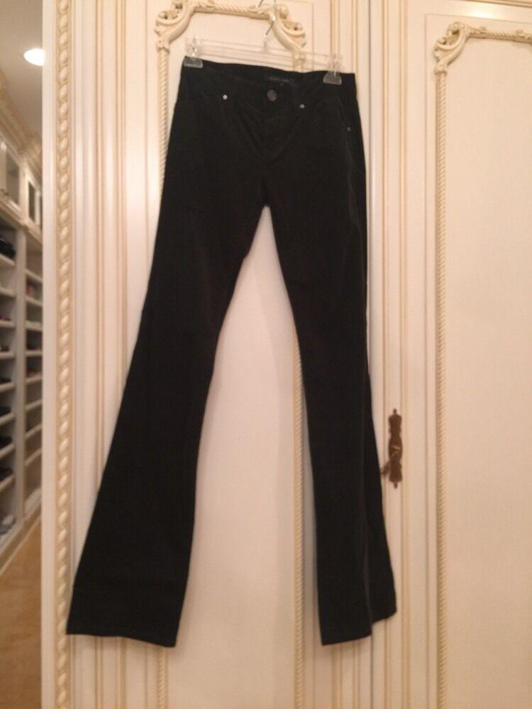 Elie Tahari New Adena Pant Size 0. Retails  Flare Leg  Dark Olive Green