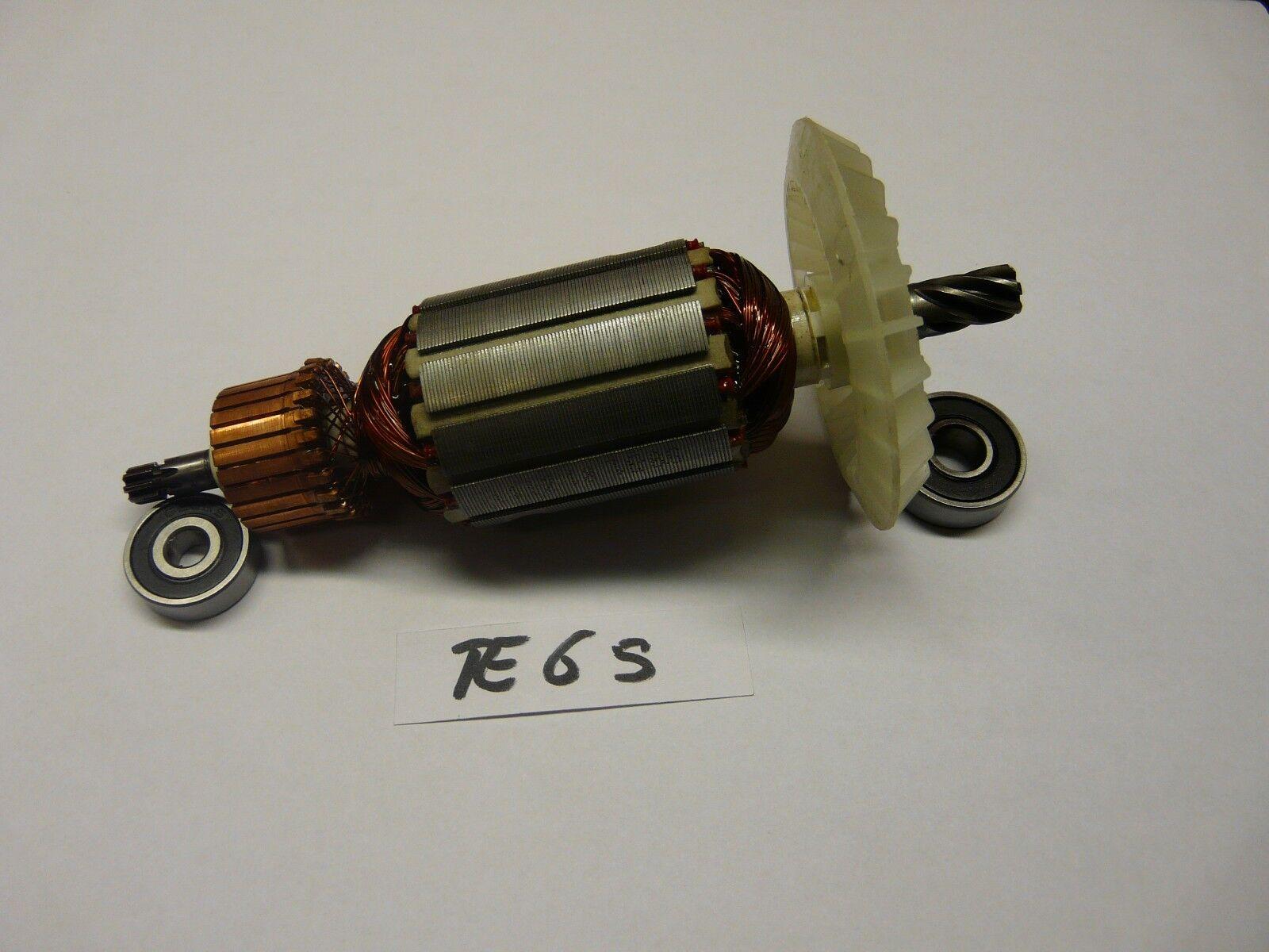 37 - Hilti TE 6S, Anker, Rotor mit beiden Lagern