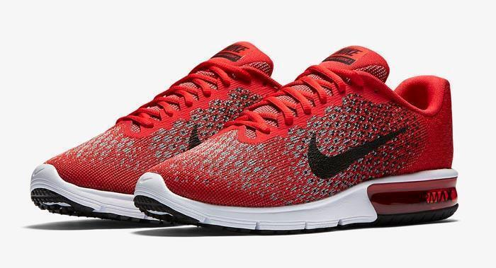 SALE!! NEW NIB Men's NIKE Air Max Sequent 2 Shoes 852461 600 Invigor