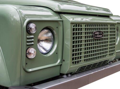 """Non Verniciata /""""Heritage Edition/"""" Stile Griglia Anteriore per Land Rover Defender 90 110"""