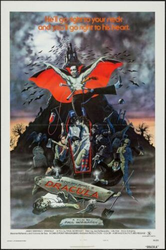 Blood For Dracula Movie Poster 24inx36in