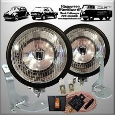 Bmw Mini Cooper S Sport Black Spot lights Fog Lamps Brackets Wiring Kit Covers