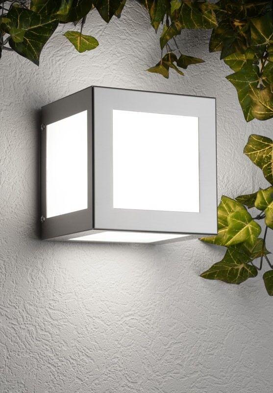 Aussenlampe Aussenleuchte Edelstahl Made Made Made in Germany Wandlampe Wandleuchte NEU | Attraktives Aussehen  | Auktion  | Up-to-date-styling  8b7abd