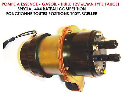 SW-acier Pompe Vidange Pour le pétrole et carburant pompe pompe vidange 12 V