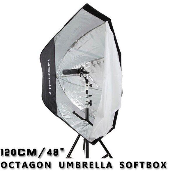 Octagon umbrella softbox For Speedlite/Flash120cm/48in Softbox