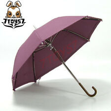 Wild Toys 1/6 Umbrella_ Purple _Fashion Foldable Working Umbrella Now WT010H