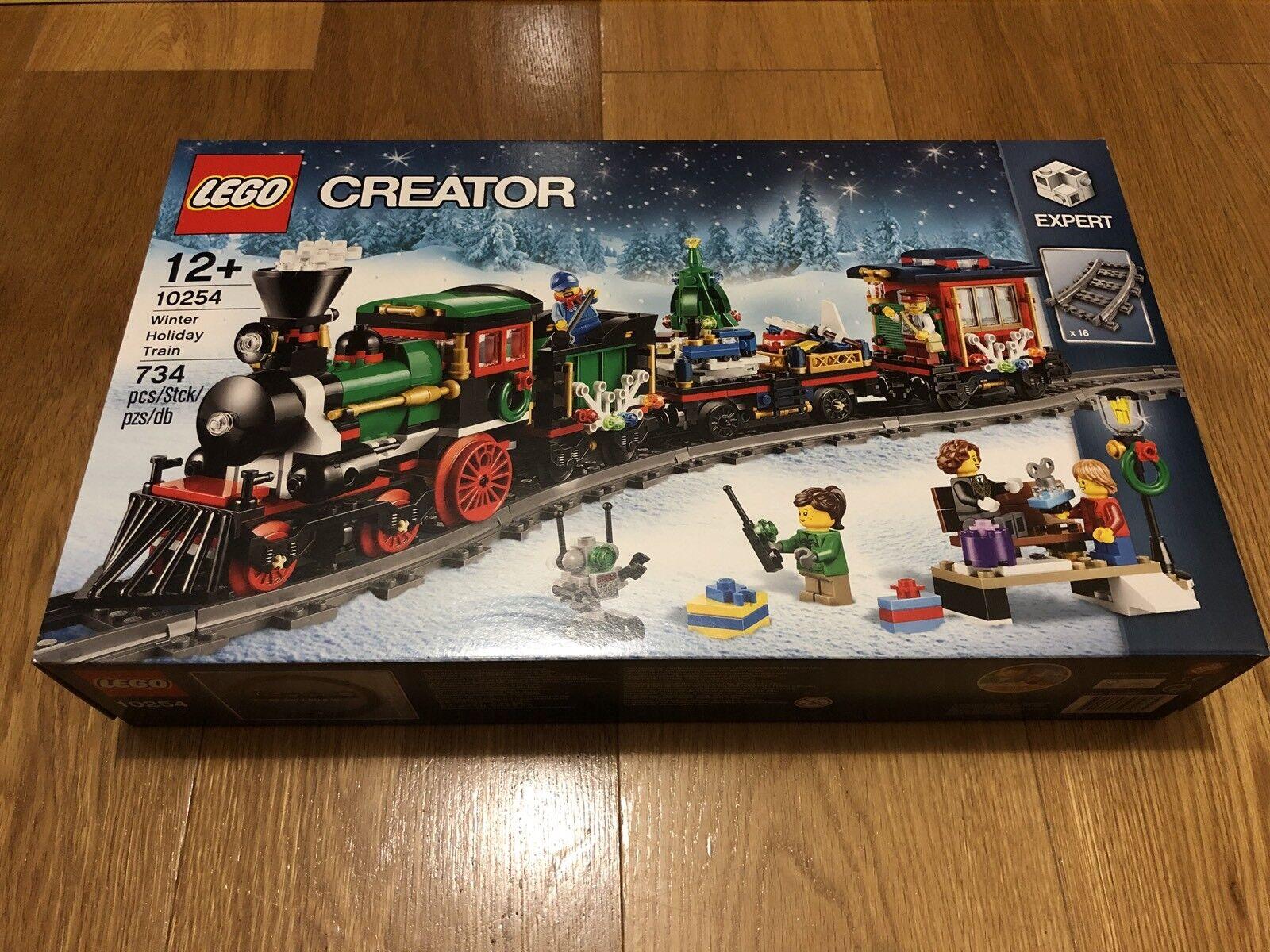 NUOVO  LEGO Tema Natalizio Set  10254 Inverno  Vacanze Treno  esclusivo  punto vendita