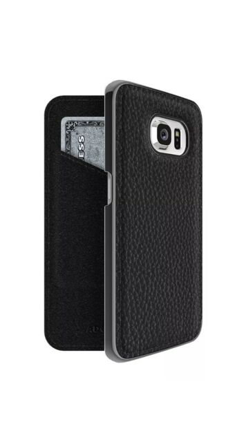 wholesale dealer 2cfce d3226 ADOPTED AGS11105 Leather Folio Case for Samsung Galaxy S6 Edge