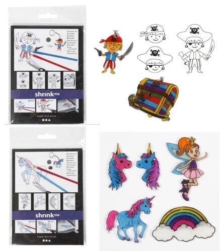 Pellicola avviluppate Shrink me Pellicola creativi per 4 Motivi Pirati esisterebbero gli unicorni
