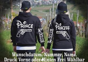 One Look Motiv Princesse Xs Love Look 5xl Sweat à Prince capuche Pullover Wunschname 1YAxTPqw