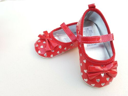 Baby Girl First Pram Ballerina Occasion Party Shoes Size 0-12 mths