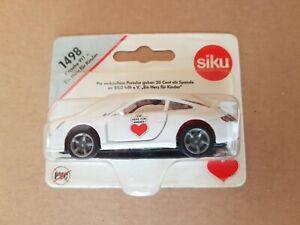 Siku-modelo-034-un-corazon-para-ninos-034-n-1498-Porsche-911-aun-OVP