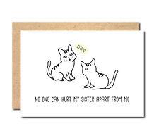 Funny Birthday Card For Sister Twins Brother Girlfriend Boyfriend Wife Husband